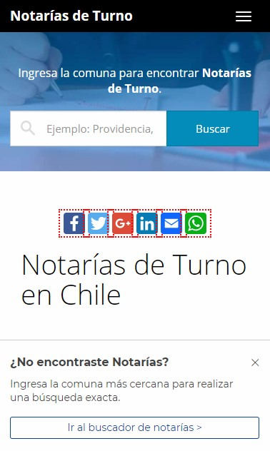 movil notarias de turno