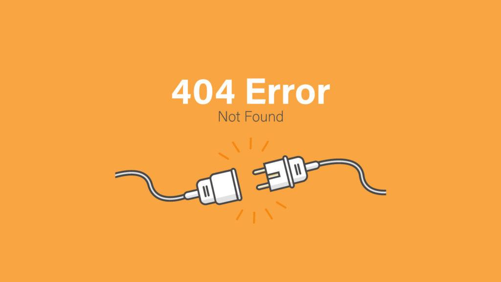 ¿QUÉ SIGNIFICA EL PROBLEMA 404 PÁGINA?