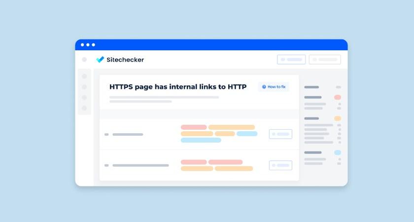 ¿QUÉ SIGNIFICA EL PROBLEMA LA PÁGINA HTTP TIENE ENLACES INTERNOS A HTTPS?