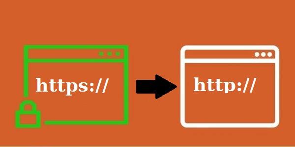¿QUÉ SIGNIFICA EL PROBLEMA REDIRECCIONAMIENTO DE HTTPS A HTTP?